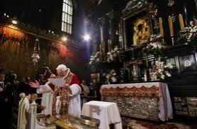 Visita ao Santuário do Papa Bento XVI