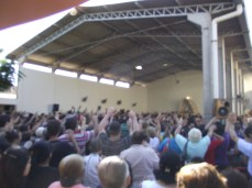 Dia da aparição - reúne milhares de pessoas