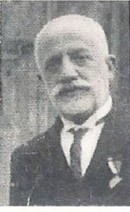 Don Victoriano Rosado Munilla. Autor del Himno de la Virgen de las Cruces