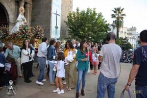 Canal Extremadura emitiendo en directo desde la Plaza de España