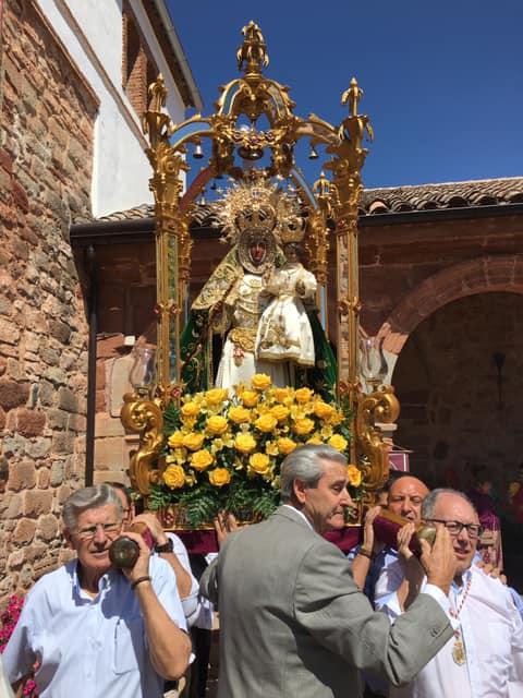 Procesión Claustral de la Virgen del Collado - Festividad de la Asunción 2019
