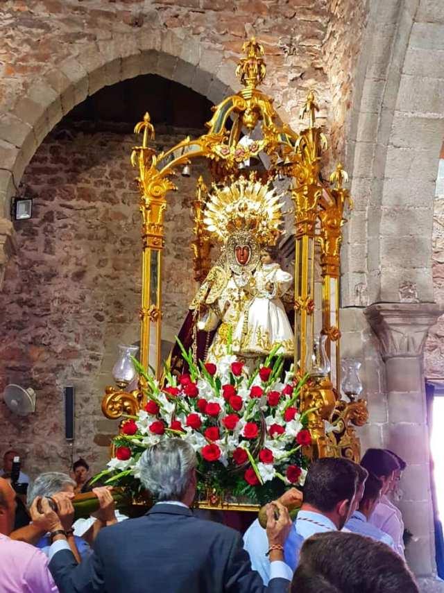 Recordatorio de la Ofrenda Floral a la Virgen del Collado
