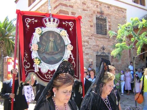 Procesión Virgen del Collado - Víspera de Pentecostes 2006