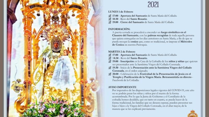 Festividad de la Candelaria 2021