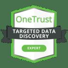 20201202-OneTrust-CredlyBadging-TargetedDataDiscoveryExpert-600x600px