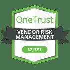 20201202-OneTrust-CredlyBadging-VendorRiskManagementExpert-600x600px