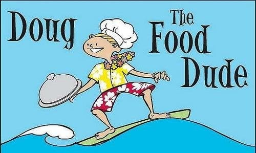 Logo of Doug The Food Dude. Courtesy of Yelp.com.