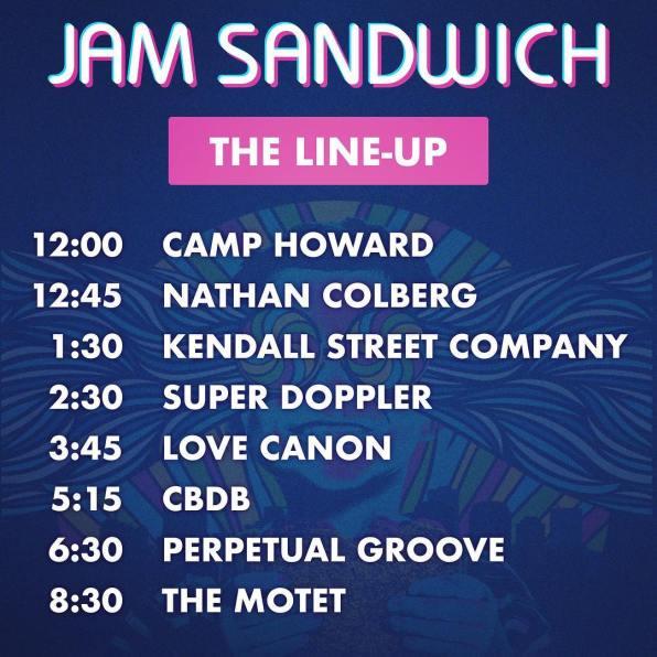 Jam Sandwich music festival