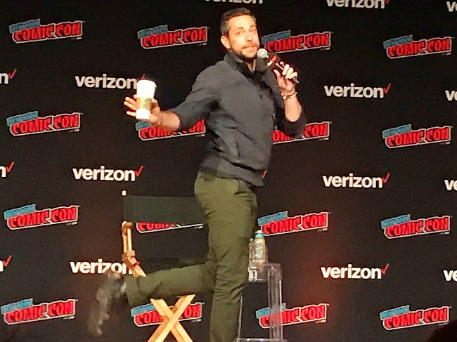 Zachary Levi at NYCC