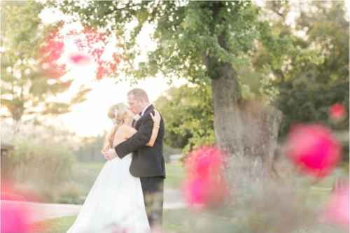roanoke country club wedding photos