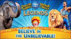 Ringling Bros. and Barnum & Bailey presents LEGENDS Circus Tickets Giveaway!