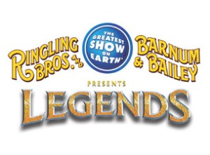 Ringling Bros. and Barnum & Bailey presents LEGENDS Circus Tickets Giveaway Winner!