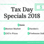 Tax Day Specials