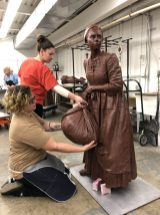 Artisans at StudioEIS continue to work on the various statues of the many women included in the Virginia Women's Monument.