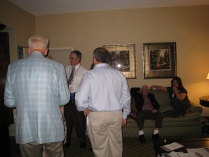 Del. Marshall with supporters