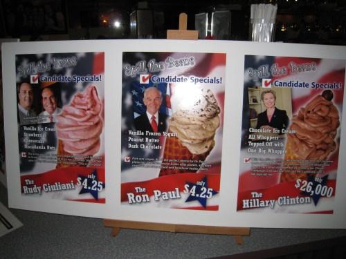 Giuliani, Paul, and Clinton