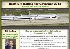 Bolling for Governor