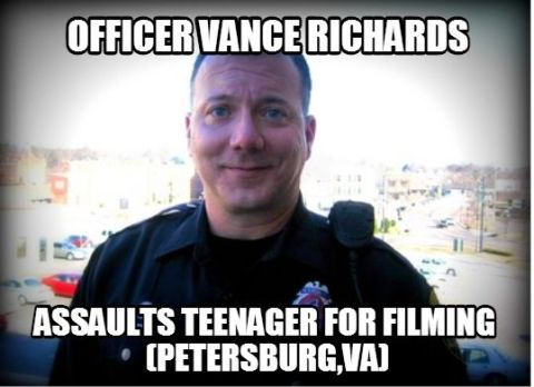 Officer Vance R. Richards MEME