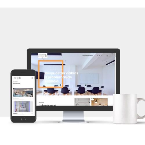 Diseño web de interiorismo
