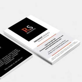 diseño tarjetas corporativas