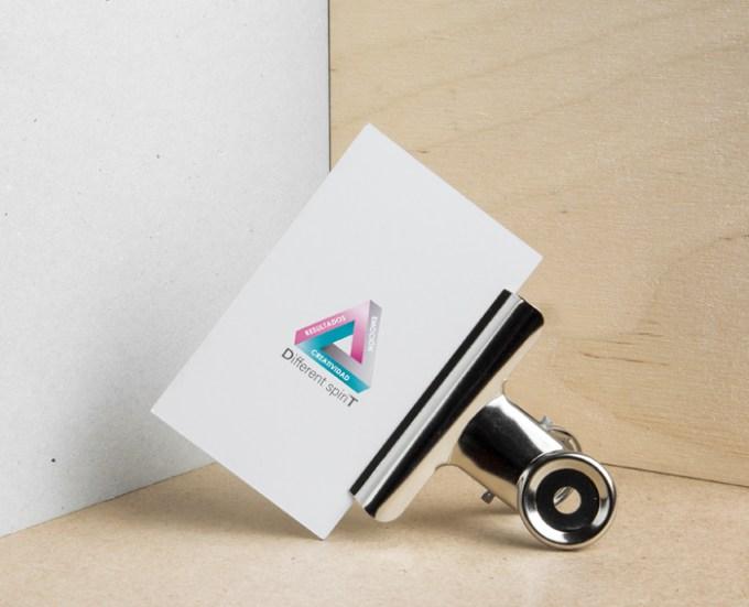 Diseño de tarjetas para empresa