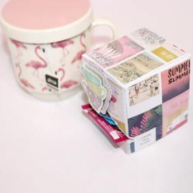 Cajita para bolsas de té