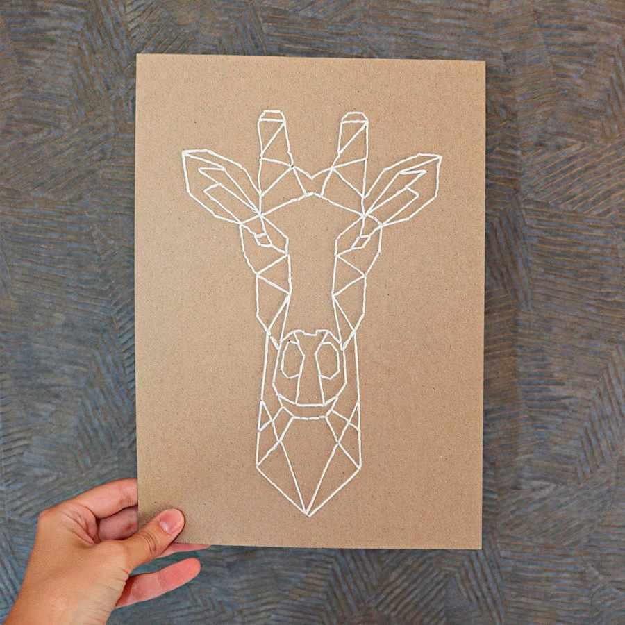 girafa origami