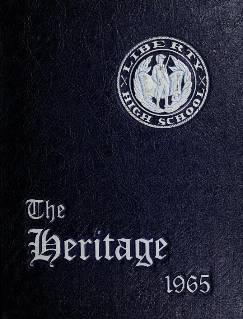 1965 The Heritage Yearbook, Liberty High School, Bedford, Virginia