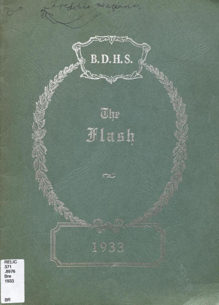 BDHS The Flash 1933