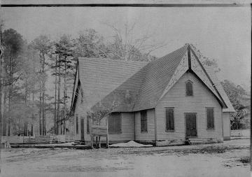 Hollies Baptist Church, Pungoteague, Virginia