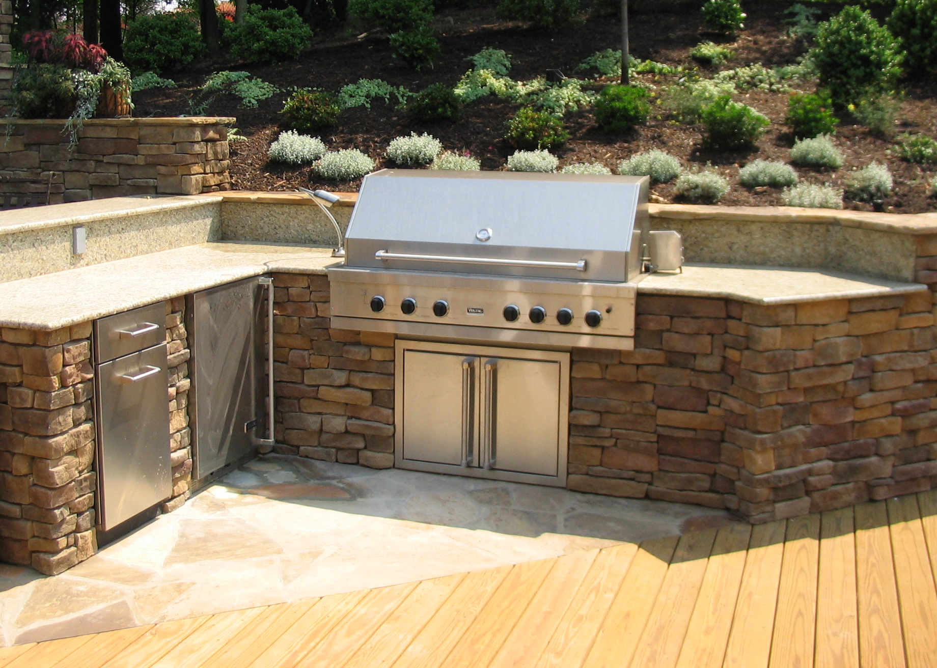 outdoor kitchens plans kitchen facets this look for the bbq area