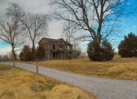 Abandoned Home, Spotsylvania, County, VA