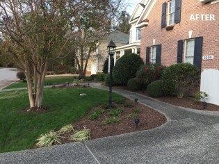 Front Yard Rehab - After (Daytime)