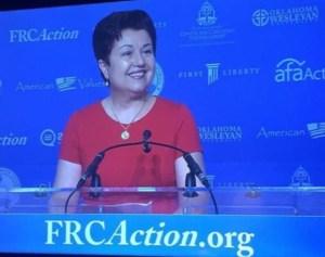 Virginia Prodan Speaking at Values Voter Summit 2016