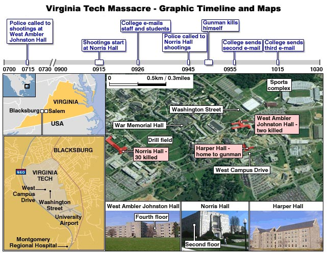 West Virginia University Campus Map