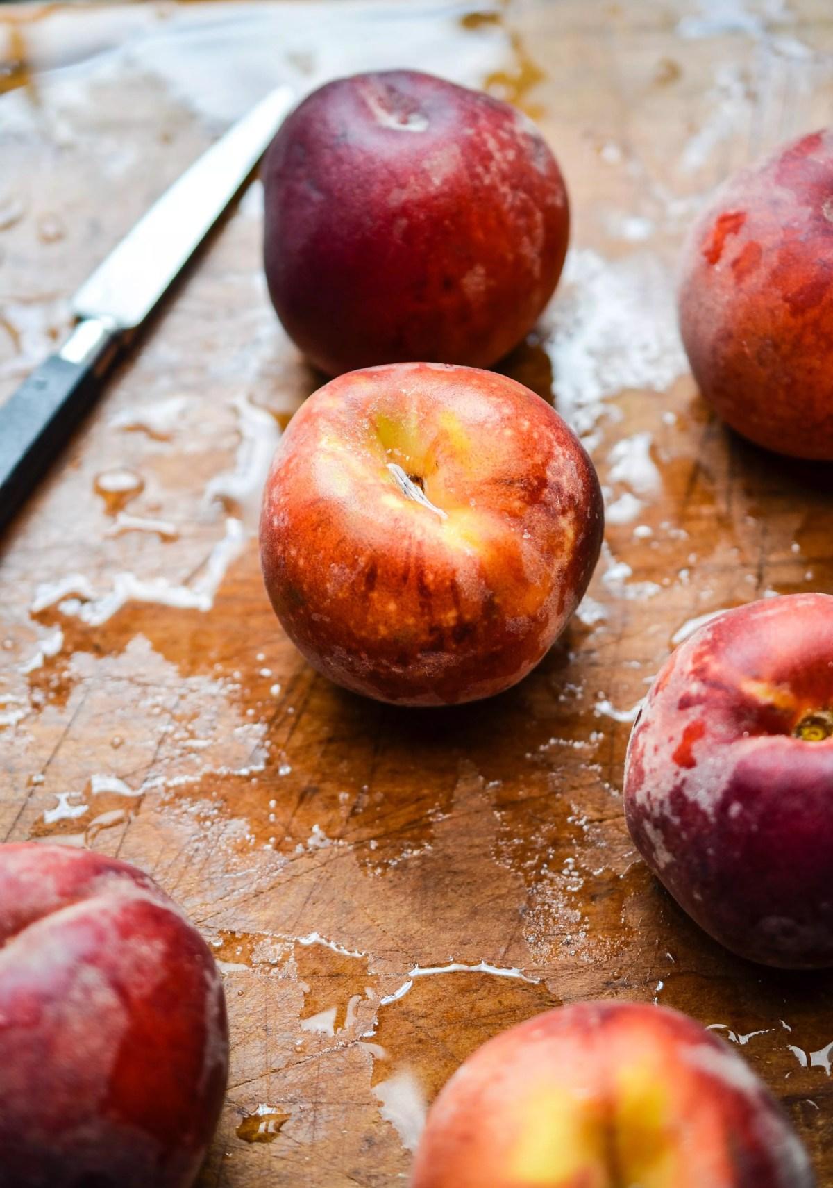 peach recipes on www.virginiawillis.com