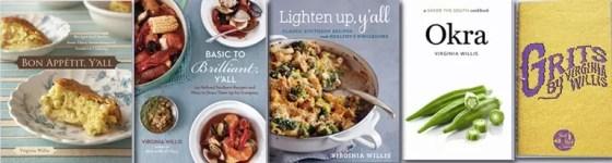 Virginia Willis cookbooks on www.virginiawillis.com