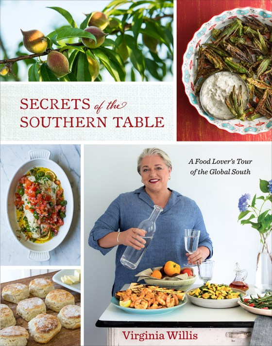 Secrets of the Southern Table on www.virginiawillis.com