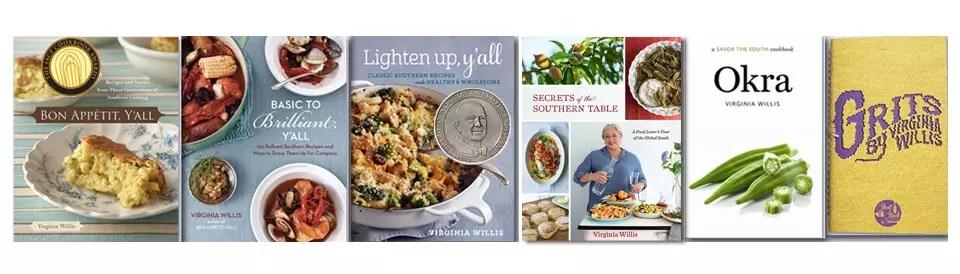 cookbooks on www.virginiawillis.com