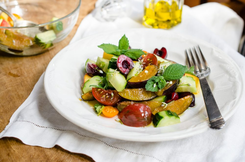What's in Season: Cucumber Fruit Salad