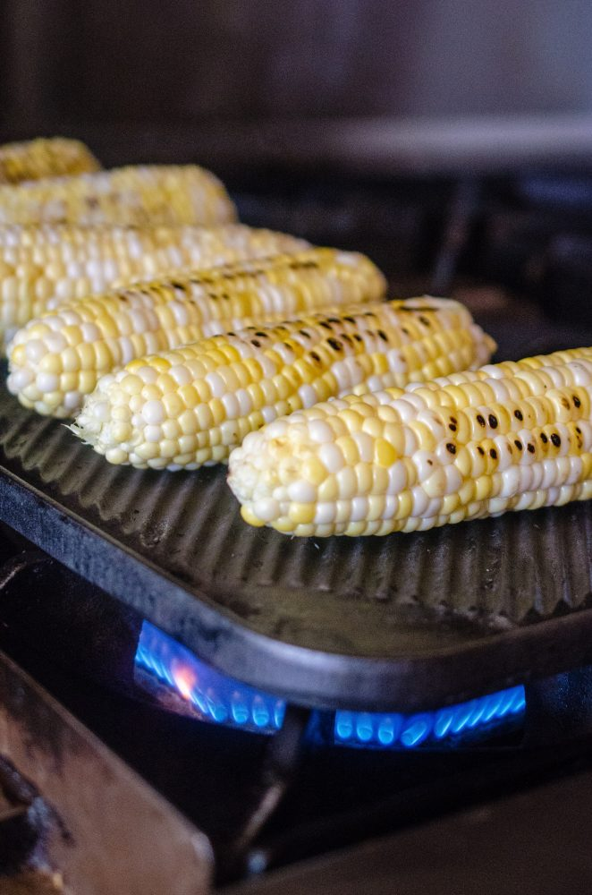 You are currently viewing What's in Season: Grilled Corn Tabouleh