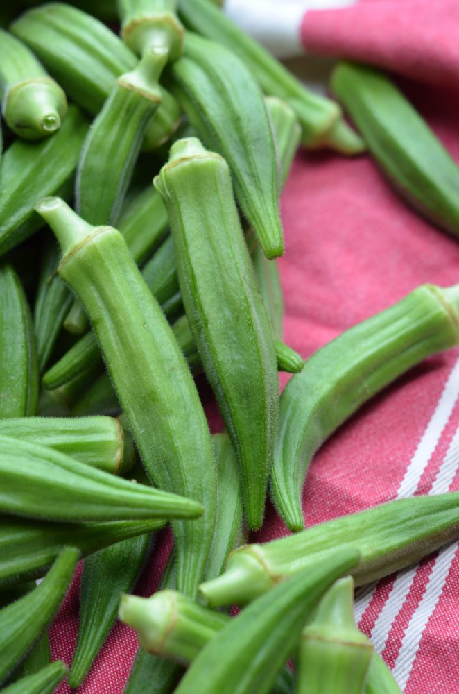 fresh okra on www.virginiawillis.com