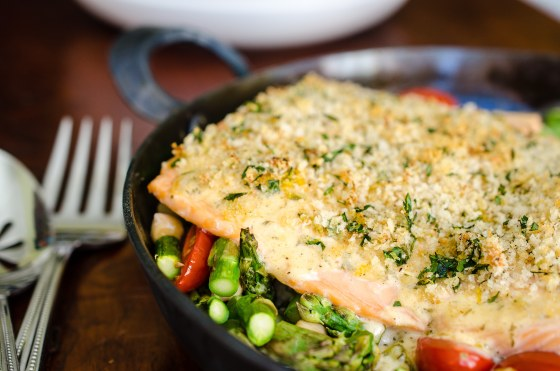 Creole Ranch Salmon on virginiawillis.com