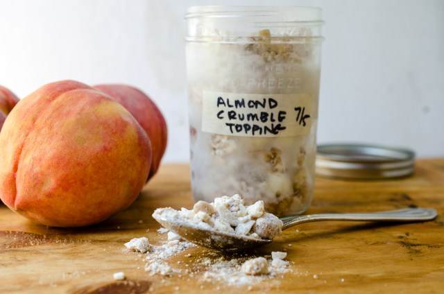 almond crumble
