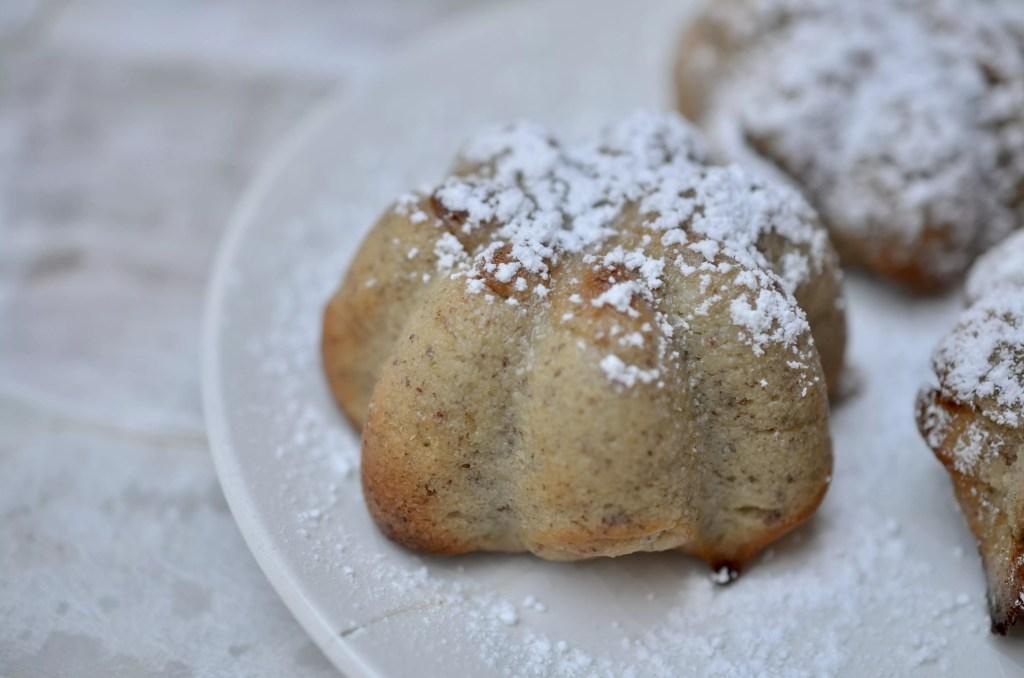 GF Pear Banana Almond Muffin
