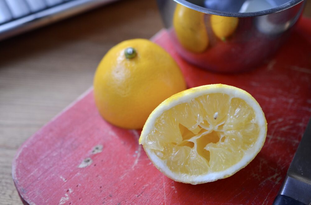 Lemon-Chia Seed Cake