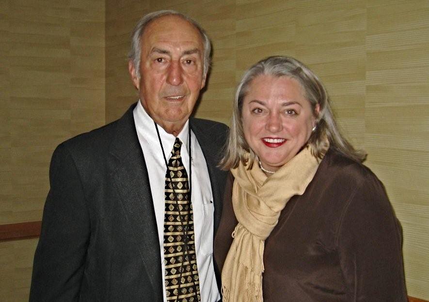 Master Distiller Parker Beam and Virginia Willis