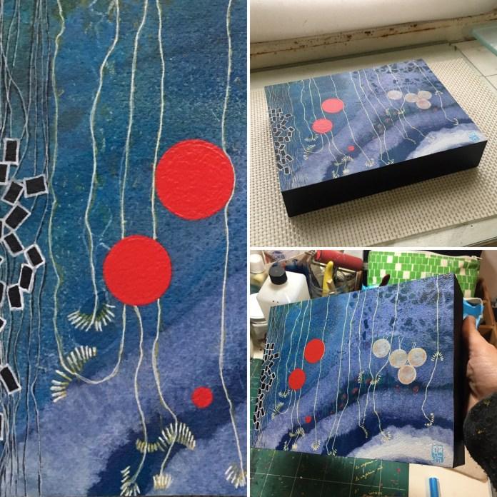 Oekoumène #33 dans mon atelier layout