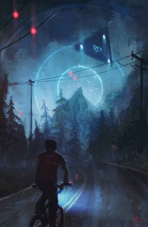 ufo by traaw