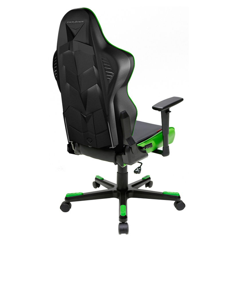 Dxracer Office Chair Dxracer Racing Series Led Black Green Gaming Seat